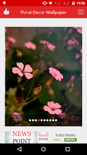 Floral Decor Live Wallpaper - screenshot