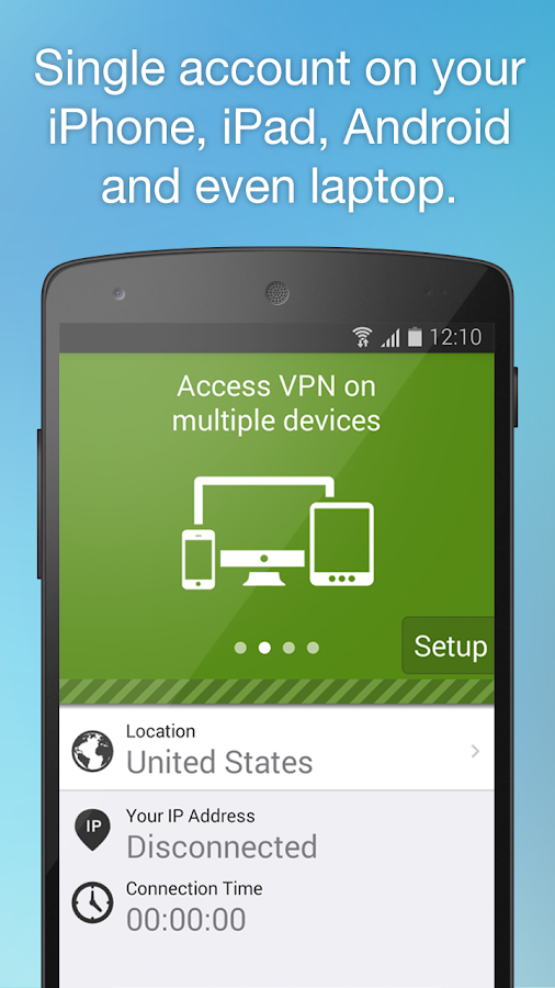 Free VPN Proxy by Seed4.Me Screenshot 2