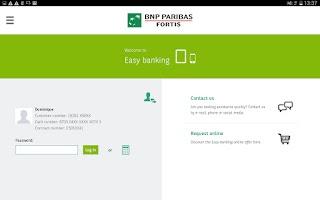 Screenshot of Easy banking