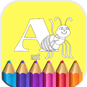 ABC Animals Coloring Book Kids APK