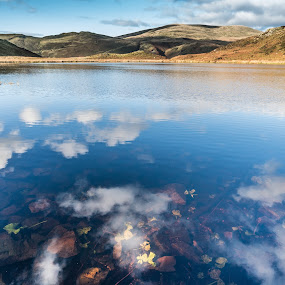 Lake by Nigel Bishton - Landscapes Waterscapes (  )