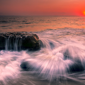 La Jolla Coast by Wenjie Qiao - Landscapes Sunsets & Sunrises