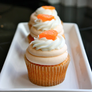 Creamsicle Cupcakes
