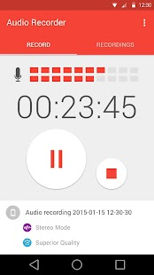 Free Audio Recorder APK for Windows 8