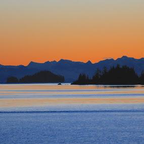 Alaska Sunrise by Capt Jack - Landscapes Waterscapes ( marine, water, alaska, wonder, beauty )