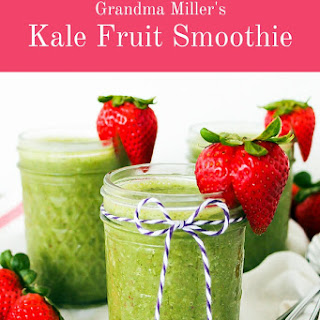 Kale Fruit Smoothie Recipes