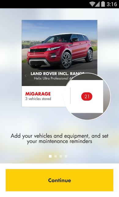 miGarage screenshots