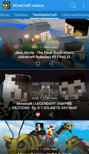 Popular Videos For Minecraft - screenshot