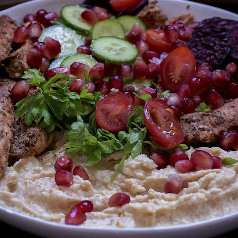 Turkish Chicken Salad
