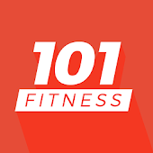 Personal coach and fit plan at home - 101 Fitness Icon