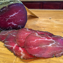 Bresaola by Wilson Silverthorne - Food & Drink Meats & Cheeses ( bresaola, fermented, cured, meat, beef,  )