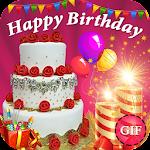 Happy birthday gif Icon
