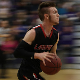 A blur of a game by Nathan Mannis - Sports & Fitness Basketball ( basketball, high school, blur, pan,  )