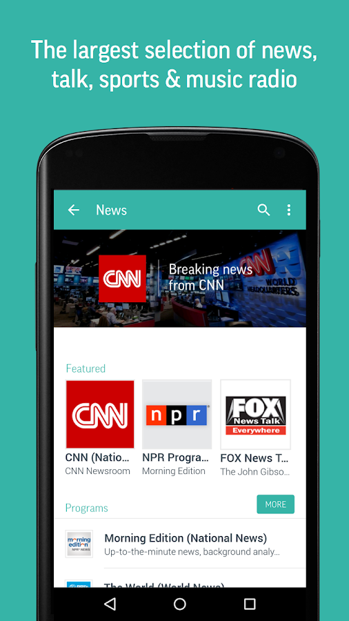 TuneIn Radio Pro - Live Radio Screenshot 2