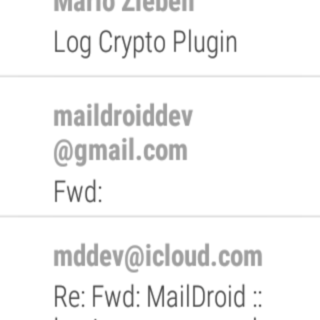 MailDroid - Free Email App Screenshot 12