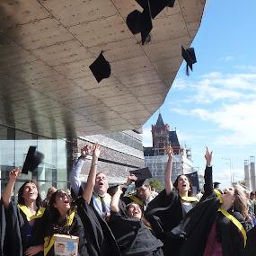 Graduation by Claudia Romeo - People Group/Corporate ( uk, uwic, 2012, graduation )