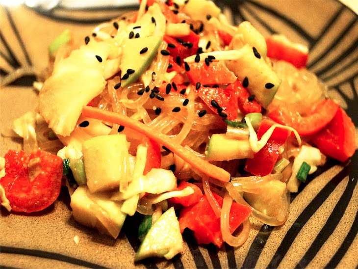 Cold Asian Noodle Salad Recipe | Yummly