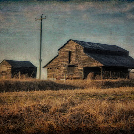Rustic Beauties by Robert Mullen - Buildings & Architecture Decaying & Abandoned ( farm, barn, buildings, farmland, barns, historic )