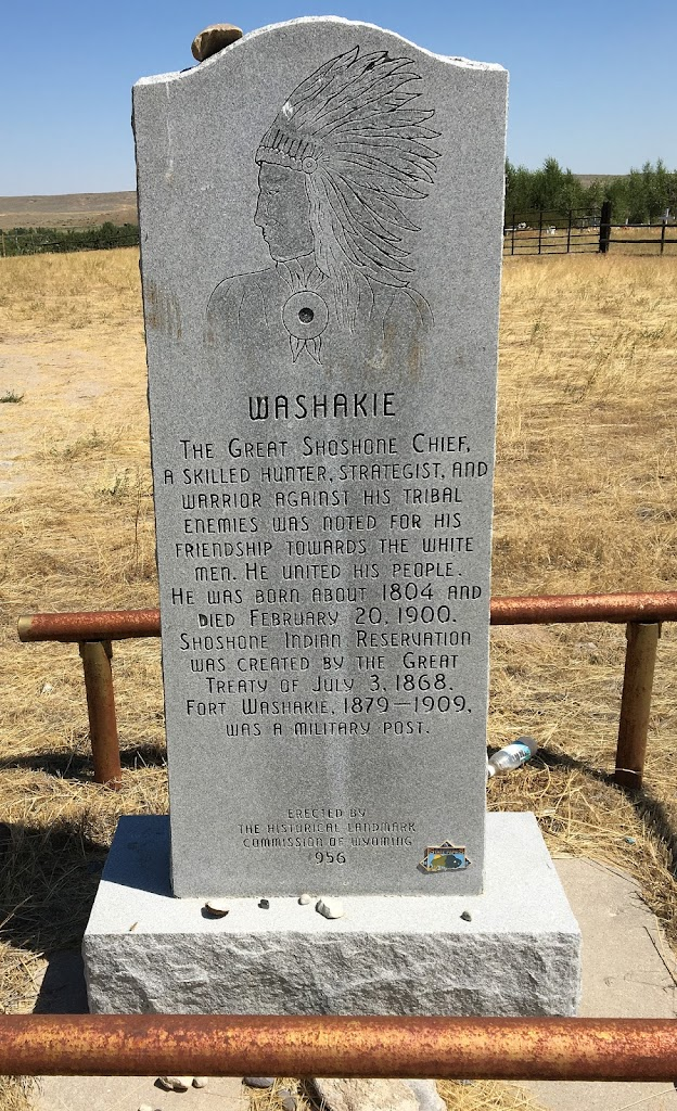 Tooling across Wyoming before the August 2017 eclipse, we drove into a town called Fort Washakie (population 1,759; elevation 5,570 feet) on U.S. 287 (a.k.a. the Chief Washakie Trail). We had no ...