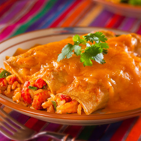 Crawfish Enchiladas