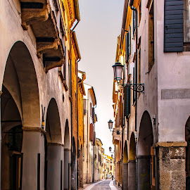 Longer street.. not a soul by Hariharan Venkatakrishnan - City,  Street & Park  Street Scenes