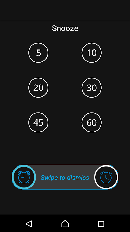 Inteli Alarm Clock Pro Screenshot 2