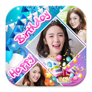 happy birthday frames collage free android app market