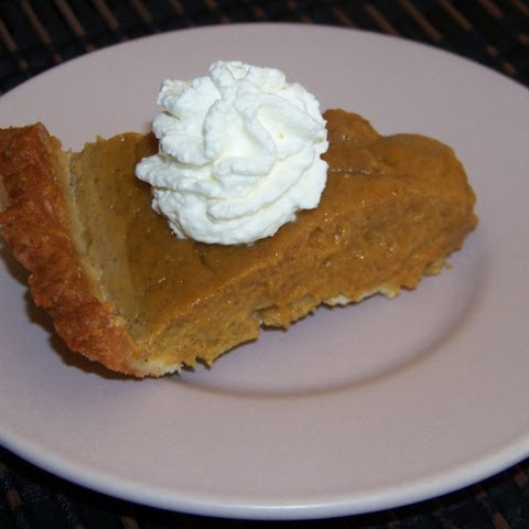 Almond Milk Pumpkin Pie