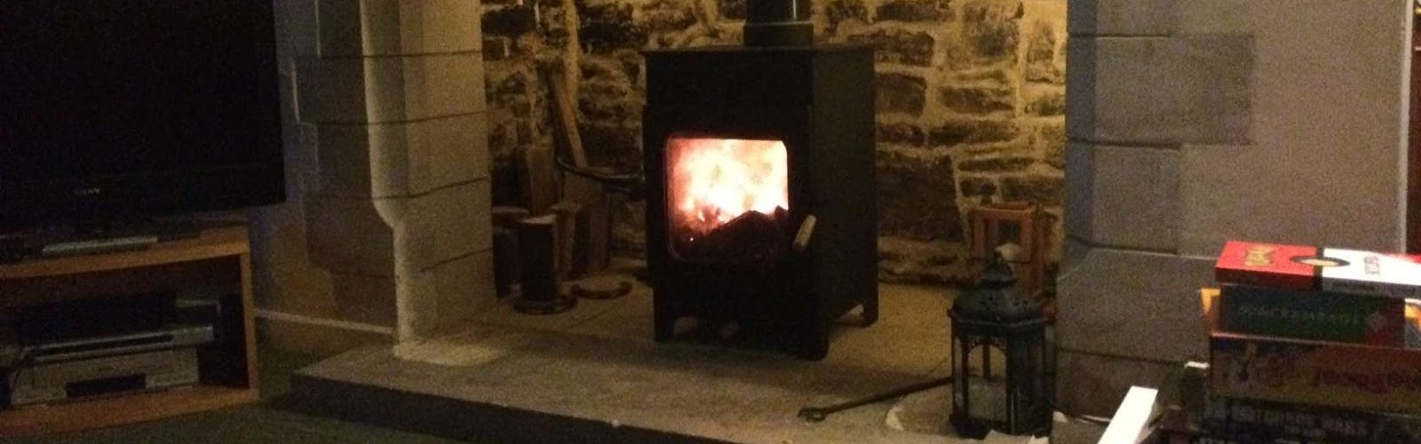 Wood Burning Stove In Dorset