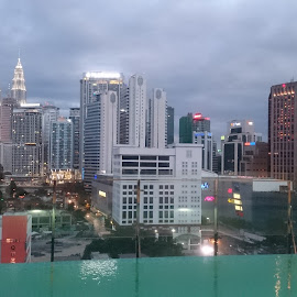 Kuala Lumpur City Centre by Vanitha Nair - Buildings & Architecture Office Buildings & Hotels ( building, malaysia, mother nature, kuala lumpur )