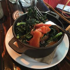 Stewed kale