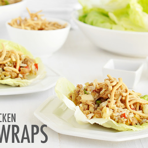 Slow Cooker Chicken Lettuce Wraps