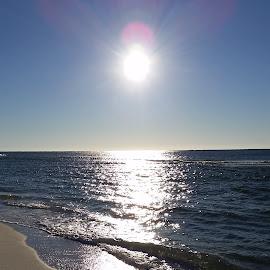 Good Morning Sunshine by Kathy Psencik - Novices Only Landscapes ( pensacola beach, beachsunrise, pensacola beach sunrise, sunshine, beach, sunrise )