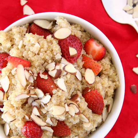 Strawberry Almond Quinoa