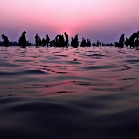 WATER WORLD by NEELANJAN BASU - Landscapes Waterscapes ( water, life, sea, people, world )