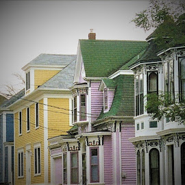 Lunenburg's Old Fisherman Homes  by Linda    L Tatler - Buildings & Architecture Homes