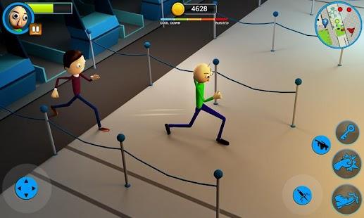 Scary Baldi : Airport Escape Game