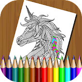 Animals Coloring Book for Kids APK for Bluestacks