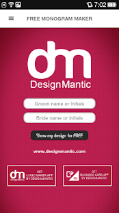 Free Monogram Maker screenshot for Android