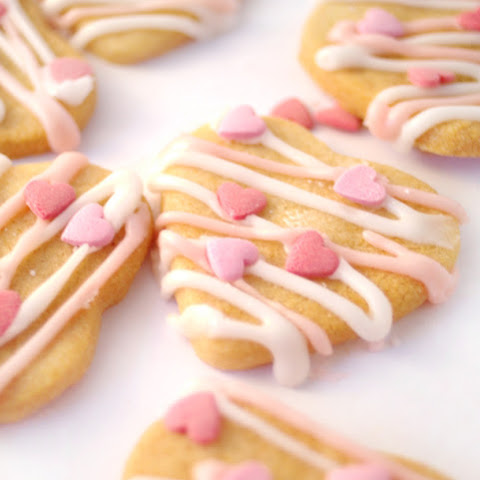 Valentine's Day Butter Biscuits