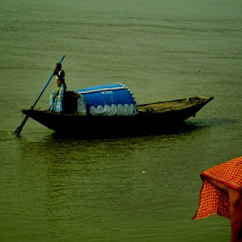 Natural Beauty  by Sumita Mehera - Transportation Boats
