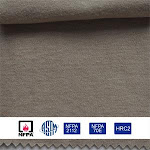 ASTM Cotton Knitted Fire Resistant Fabric