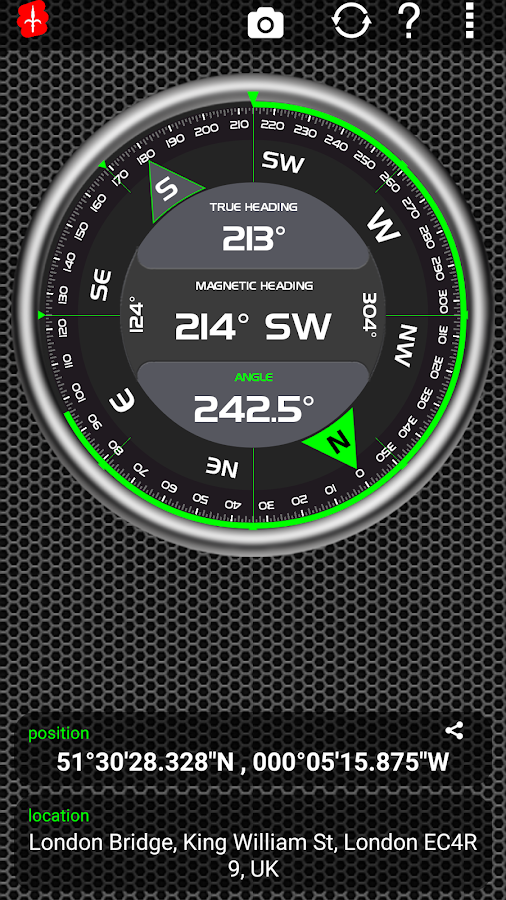 AndroiTS Compass Pro Screenshot 1