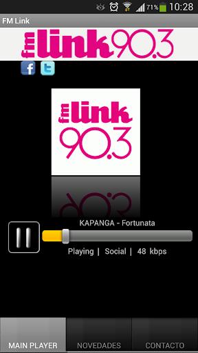 FM Link Radio screenshot 1