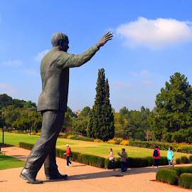 Nelson Mandela 1 South Africa by Melody Pieterse - Buildings & Architecture Statues & Monuments (  )