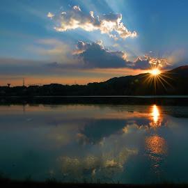 by Angela Codrina Andries Bocse - Landscapes Sunsets & Sunrises