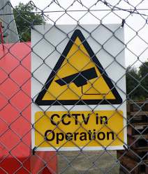 example of non-compliant signage where the Purpose of the system, operator and contact details should be present