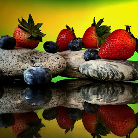 Berries by Janette Ho - Food & Drink Fruits & Vegetables