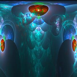 Underwater by Cassy 67 - Illustration Abstract & Patterns ( digital art, fractal, digital, fractals )