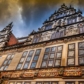 Building in Bremen by Anita  Christine - Buildings & Architecture Public & Historical ( building, sky, architecture, historical, city )